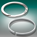 Smalley® Spiral retaining rings