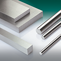 Ground flat stock and