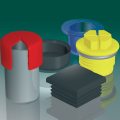 MINIPLAST: plastic plugs, caps and components