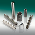 SPRING PINS AND COILED PINS, TENSION BUSHES, COMPRESSION LIMITERS
